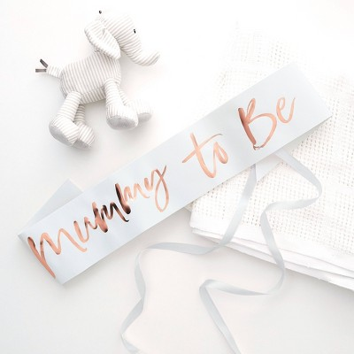 """Mummy To Be"" Party Sash"