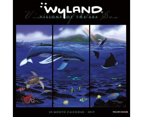 Wyland Visions of the Sea 2019 Calendar -  (Paperback) - image 1 of 1