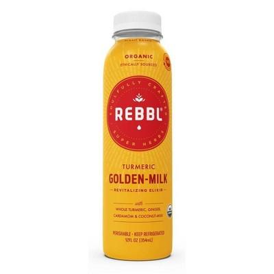 Rebbl Elixir Organic Turmeric Golden Coconut Milk - 12oz