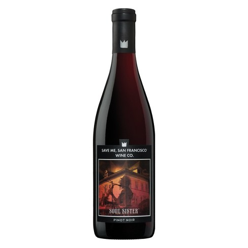 Save Me San Francisco Soul Sister Pinot Noir Red Wine - 750ml Bottle - image 1 of 1