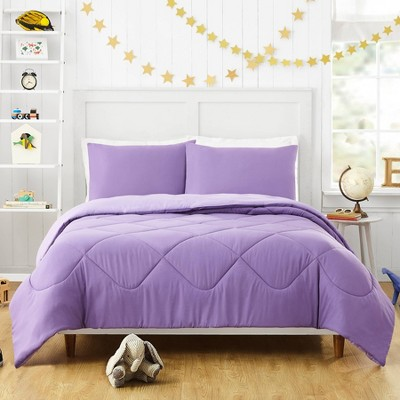 Iris Comforter Set Purple - Urban Playground
