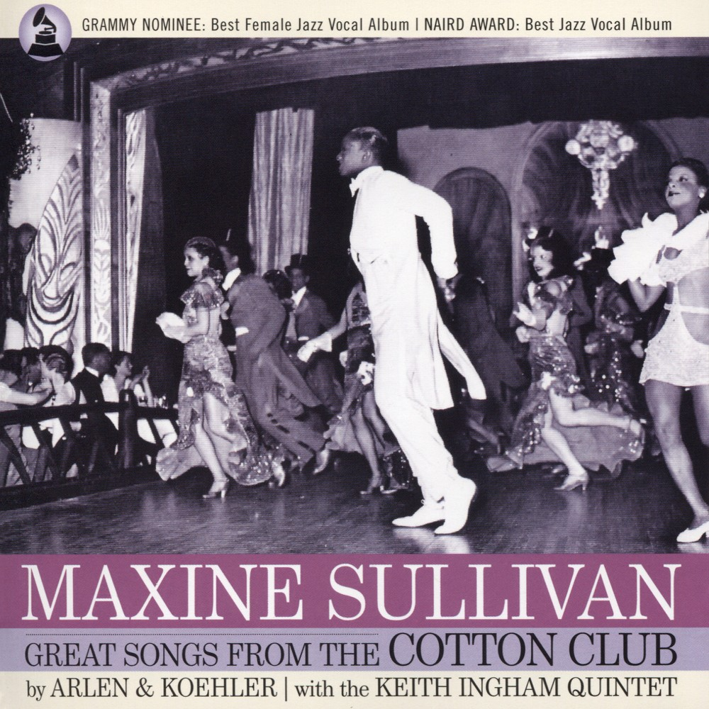 Maxine Sullivan - Great Songs From The Cotton Club (CD)