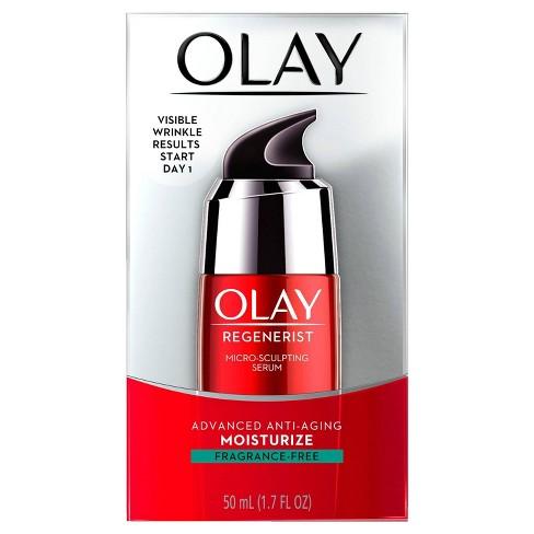 Olay Fragrance-Free Regenerist Micro Sculpting Serum - 1.7 fl oz - image 1 of 4