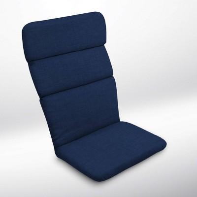 Leala Texture Adirondack Chair Cushion Sapphire - Arden Selections