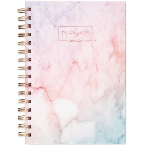 "2019-2020 Academic Planner 6.25""x 8.5"" Marble Pink - Cambridge - image 1 of 5"