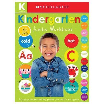 Jumbo Kindergarten -  Workbook by Scholastic Inc. & Scholastic Early Learners (Paperback)
