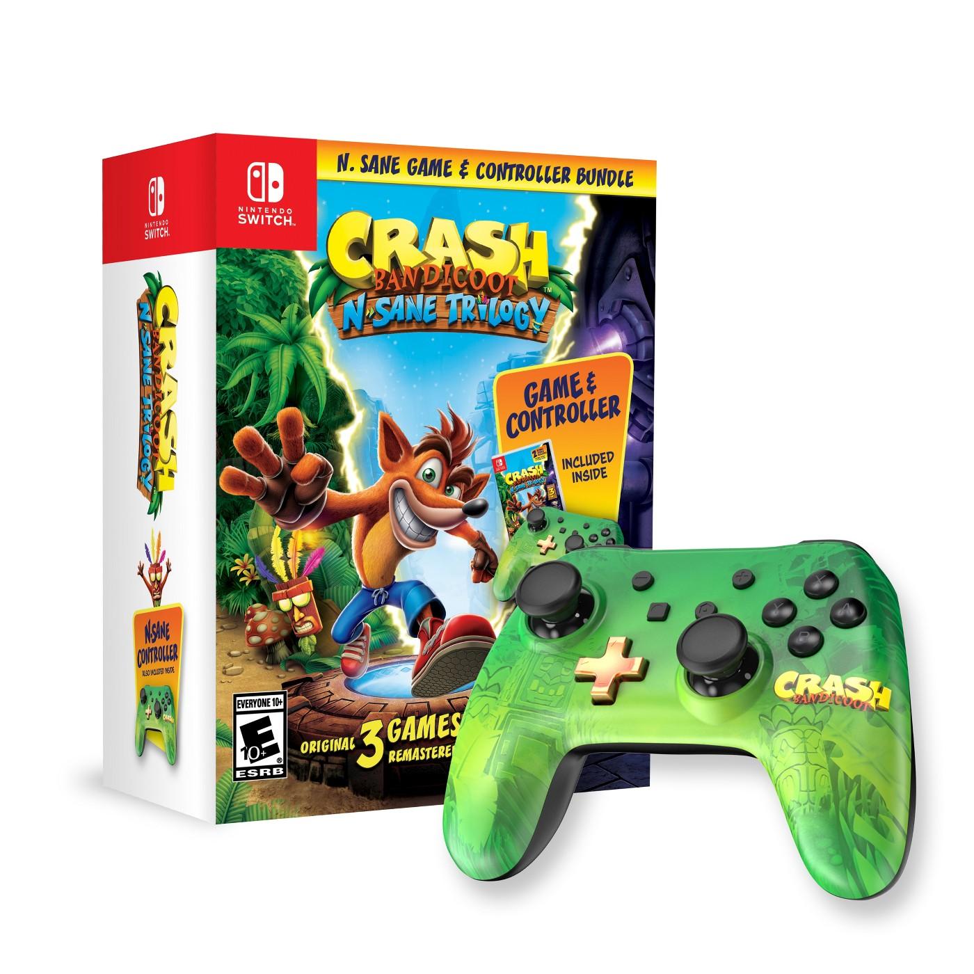 Crash Bandicoot: N. Sane Trilogy Bundle - Nintendo Switch - image 1 of 10