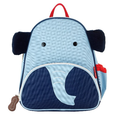 6331b765235e Skip Hop Zoo Little Kids   Toddler Backpack - Elephant   Target