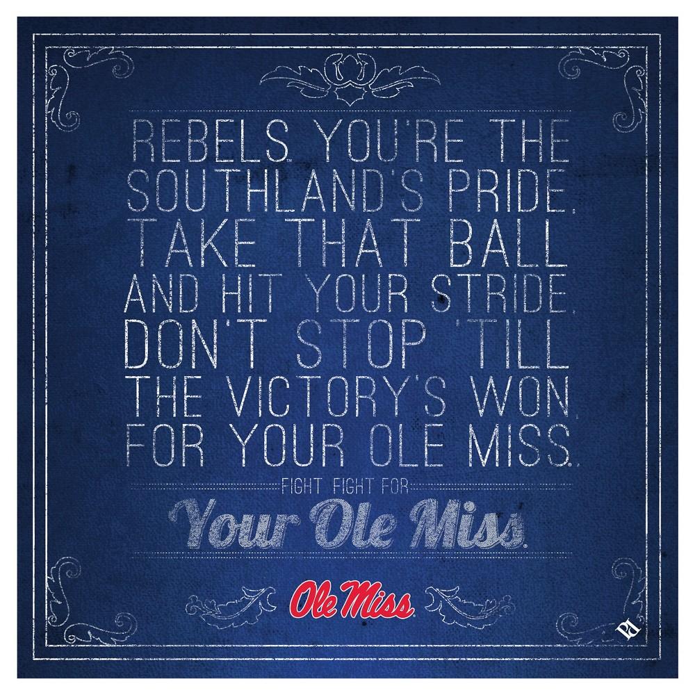 Ole Miss Rebels Spirit Trivets, Blue