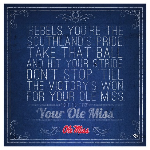 Ole Miss Rebels Spirit Trivets - image 1 of 1