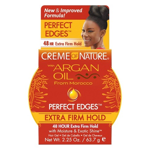 Creme of Nature Argan Oil Perfect Edges Extra Hold - 2.25oz - image 1 of 4