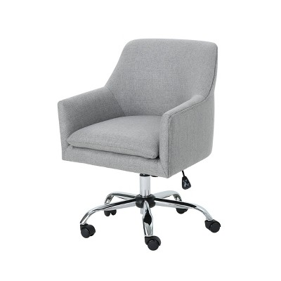 Johnson Mid Century Modern Home Office Chair Gray - Christopher Knight Home