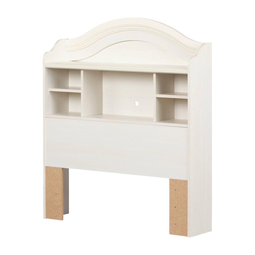 Image of Bookcase Kids Headboard Vanilla (Twin) - South Shore