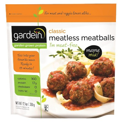 Gardein Classic Meatless Frozen Meatballs - 12.7oz