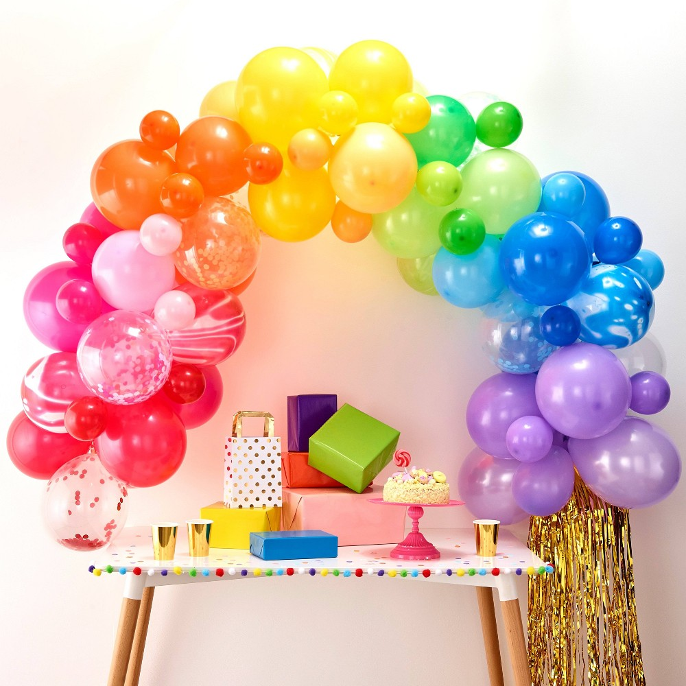 Image of Balloon Arch Rainbow, balloons and balloon accessories