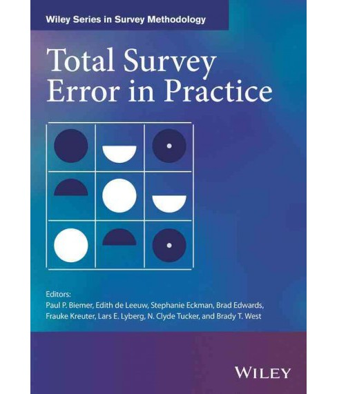 Total Survey Error in Practice (Hardcover) - image 1 of 1