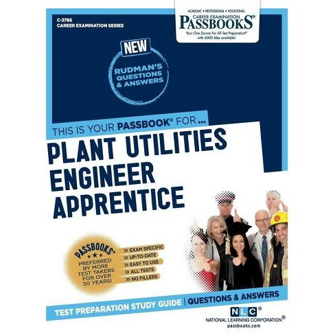 Plant Utilities Engineer Apprentice - by  National Learning Corporation (Paperback) - image 1 of 1