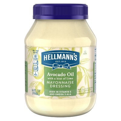 Mayonnaise: Hellmann's Avocado + Lime