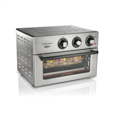 Hamilton Beach Electric Air Fryer Oven - Silver