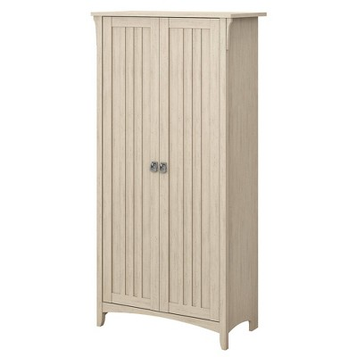 Salinas Tall Storage Cabinet with Doors - Bush Furniture