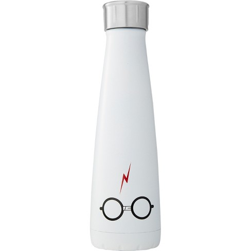 Harry Potter S'ip by S'well 15oz Stainless Steel The Boy Who Lived Water Bottle White - image 1 of 3