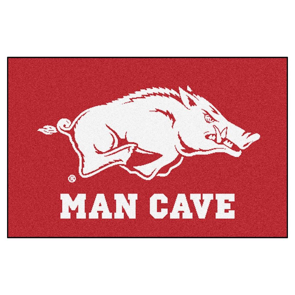 Ncaa 19 X30 Man Cave Starter Rug Arkansas Razorbacks
