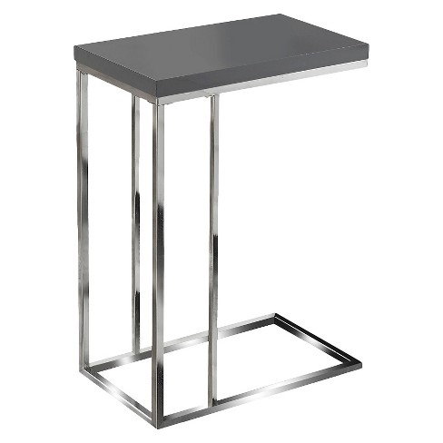 Hollow Core Accent Table - Gray - EveryRoom - image 1 of 2