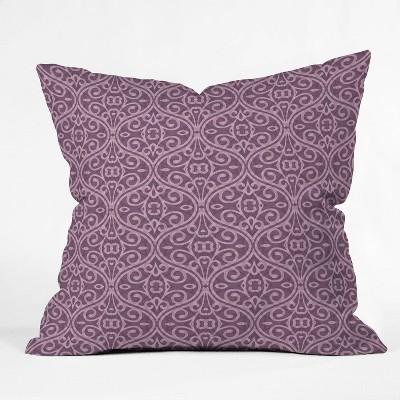 Wagner Campelo Boho Volutes Throw Pillow - Deny Designs