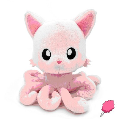 Tentacle Kitty Tentacle Kitty Cotton Candy Scented Pink Plush Collectible | Measures 8 Inches Tall