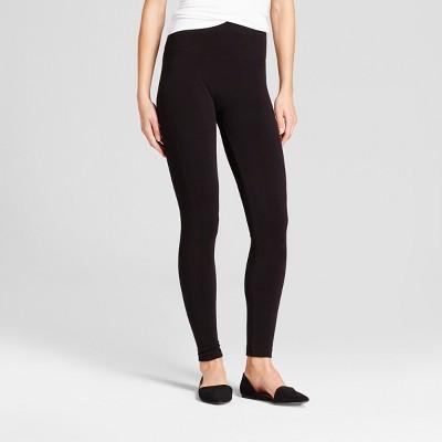 a203415788ec1 Womens Seamless Fleece Lined Leggings – A New Day™ Black S/M ...