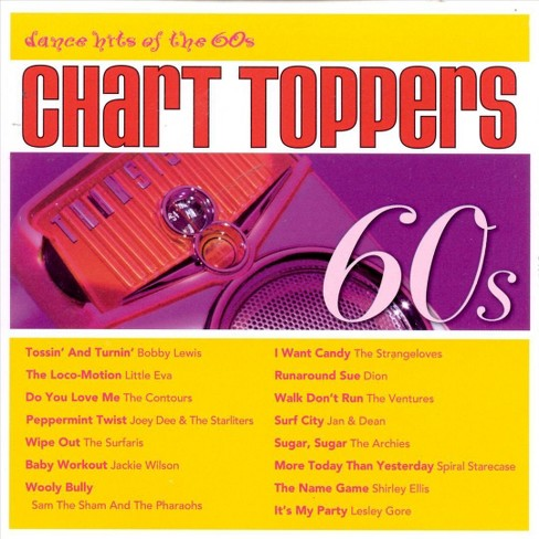 Various - Chart toppers:Dance hits of the 60's (CD) - image 1 of 2