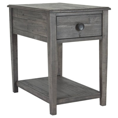 Borlofield Rectangular End Table Dark Gray - Signature Design by Ashley