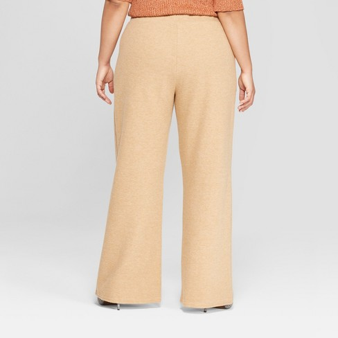 e1d4f9b4349 Women s Plus Size Cozy Wide Leg Pants - Who What Wear™   Target