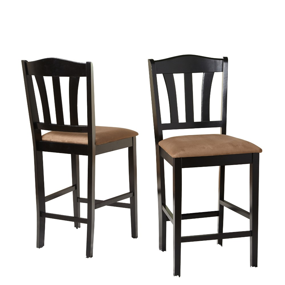 "Image of ""24"""" Mainfield Stool Black - Buylateral"""