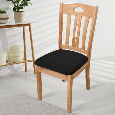 6 Pcs Polyester with Spandex Elastic Stretchable Chair Slipcovers - PiccoCasa