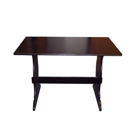 Nook Dining Table Wood/Black - TMS