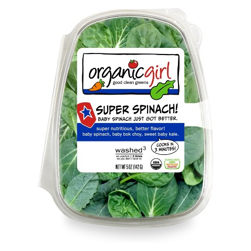 Organic Girl Super Spinach! Baby Spinach - 5oz - image 1 of 1