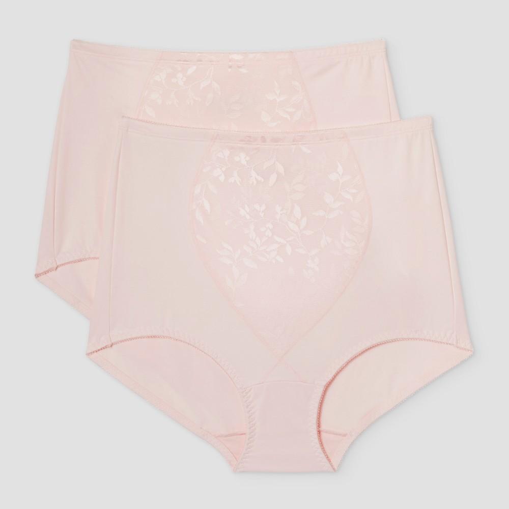 Bali Women's Control Briefs - Jacqua Pink XL