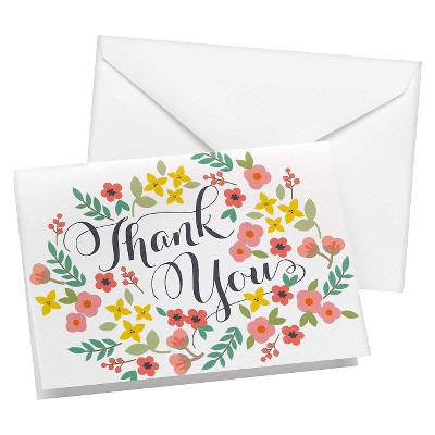 Retro Wedding Collection Thank You Cards