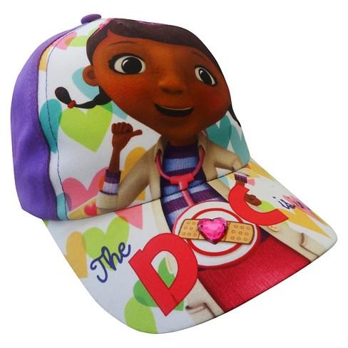 Toddler Girls  Doc McStuffins Baseball Hat - Purple   Target 51c03182d852