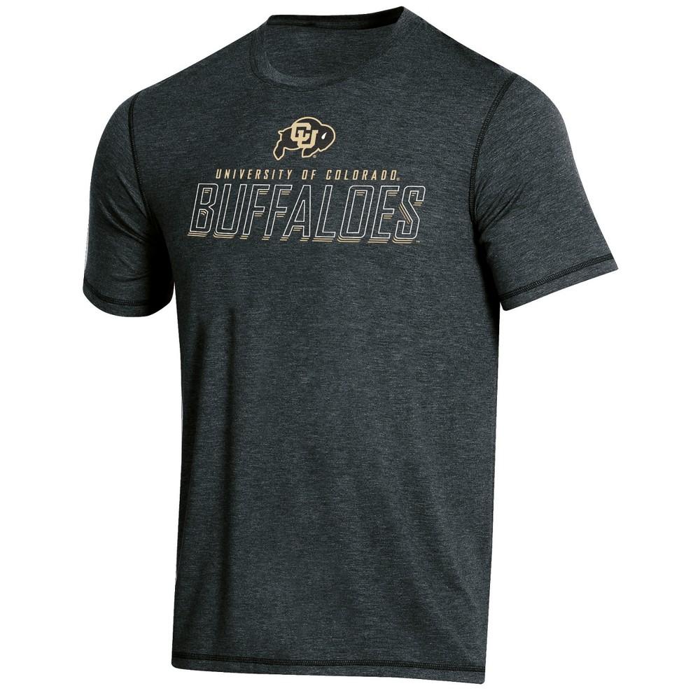 NCAA Men's Short Sleeve Poly T-Shirt Colorado Buffaloes - XL, Multicolored