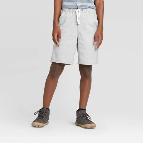 Boys' Pull-On Shorts - Cat & Jack™ Gray - image 1 of 3