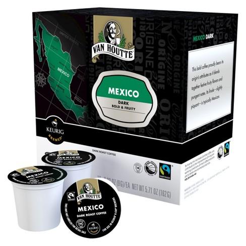 Van Houtte Mexico Dark Roast Coffee - Keurig K-Cup Pods - 18ct - image 1 of 1