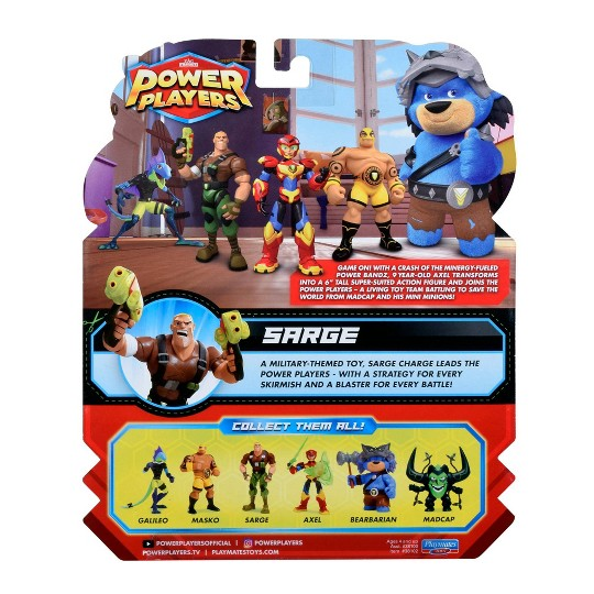 Power Players Sarge Action Figure image number null