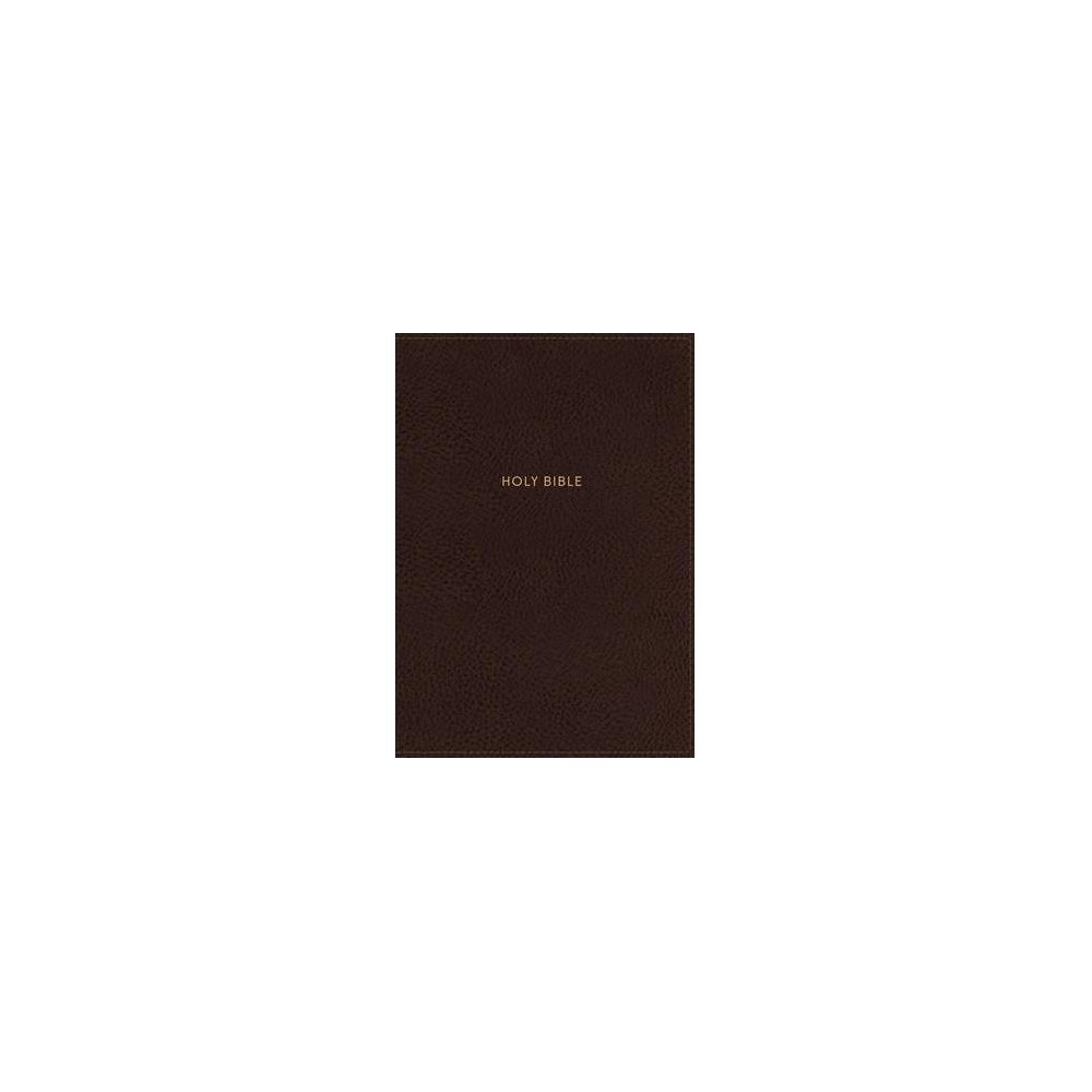 Nkjv Journal the Word Reference Bible : New King James Version, Mahogany, Leathersoft, Reference