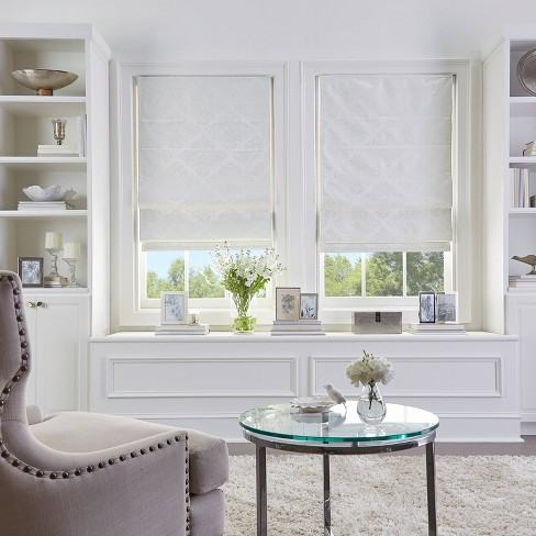 Damask Roman Shade - CHF Industries - image 1 of 2