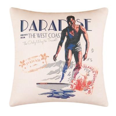 """C&F Home 18"""" x 18"""" Endless Summer Digital Print Pillow"""