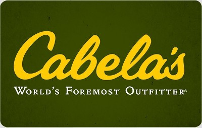 Cabela's $50 (Email Delivery)