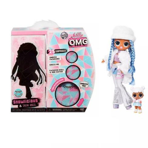 L O L Surprise O M G Winter Disco Snowlicious Fashion Doll Sister Target