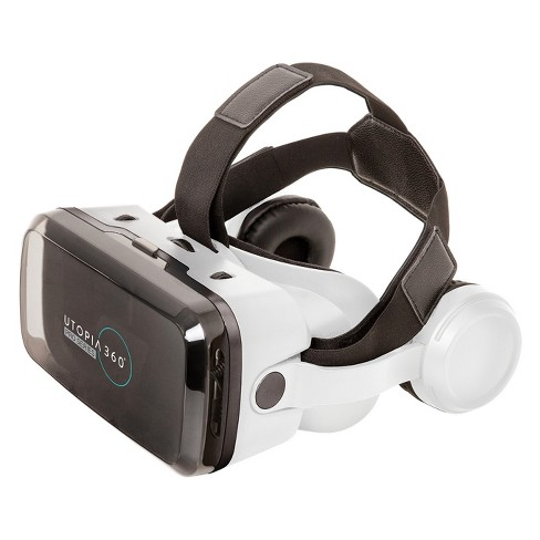 ReTrak Utopia 360 VR Headset with Bluetooth Headphones & Controller